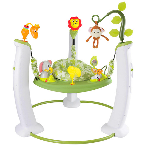 Evenflo Exersaucer Jumping Activity Center, Safari Friends - *Special Order