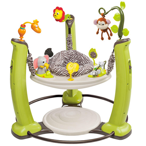 Evenflo Exersaucer Jumping Activity Center, Jungle Quest - *Special Order