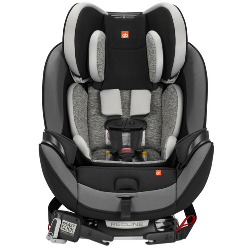 gb Asenti-Fix 3-in-1 Convertible Car Seat (Charcoal Gray or Midnight Black) - *Special Order