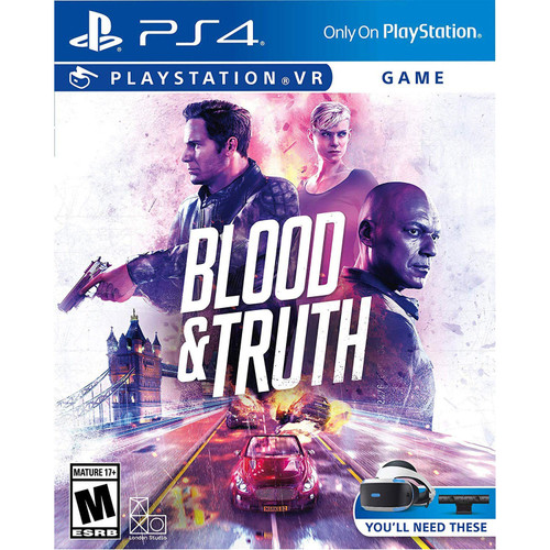 Blood & Truth VR - PVR - *Special Order