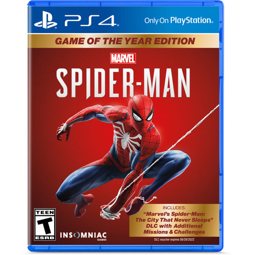 Marvel's Spider-Man: Game of the Year Edition (PlayStation 4) - *Special Order