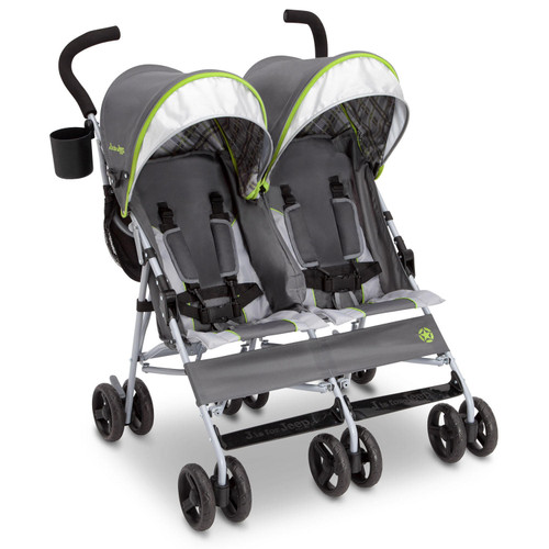 Jeep Scout Double Stroller by Delta Children (Choose Your Color) - *Special Order