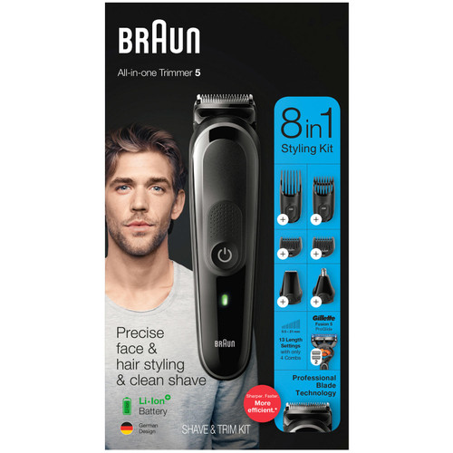Braun MGK5260 8-in-1 Hair Clipper and Beard Trimmer - *Special Order