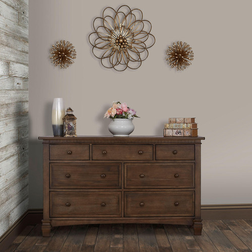 Evolur Santa Fe 7 Drawer Double Dresser (Choose Your Color) - *Special Order
