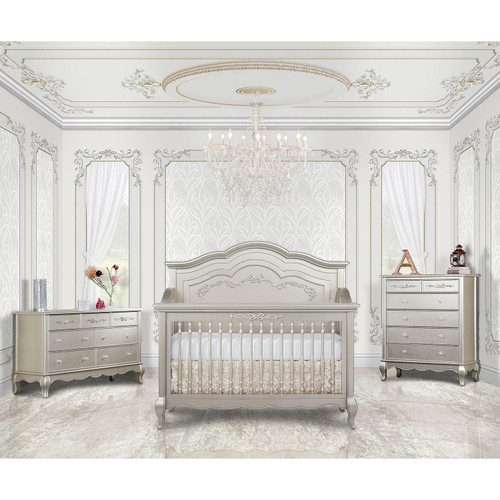 Evolur Aurora 5-in-1 Convertible Crib (Choose Your Color) - *Special Order