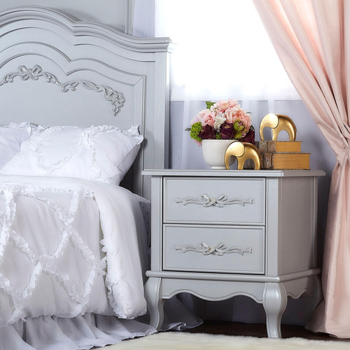 Evolur Aurora Nightstand (Choose Your Color) - *Special Order