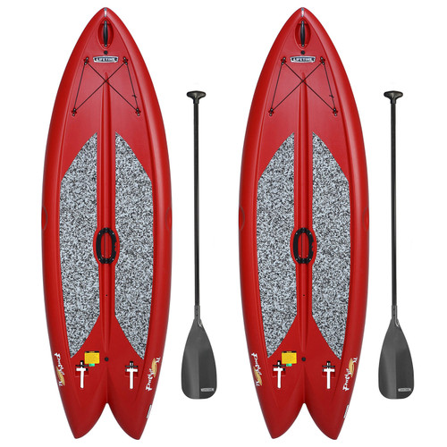 """Lifetime Freestyle XL 9'8"""" Stand-Up Paddleboard - 2 Pack (Paddles Included) - *Special Order"""