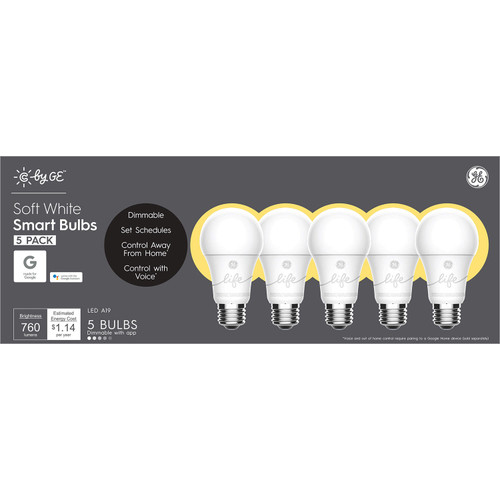 C by GE Soft White Smart Bulbs (5 Pack) - *Special Order