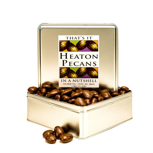 Heaton Pecans, Chocolate-Covered (6 lbs.) - *Special Order