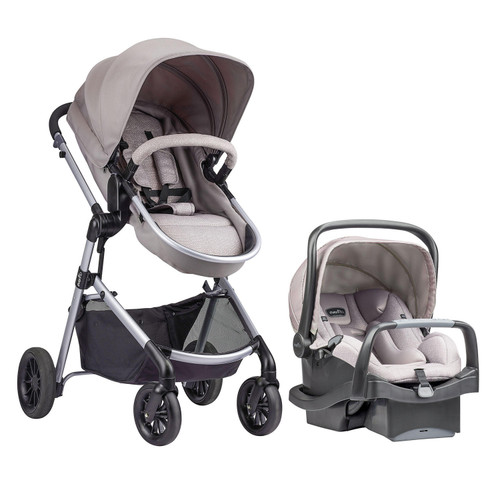 Evenflo Pivot Modular Travel System with SafeMax Car Seat (Choose Your Color)change - *Special Order