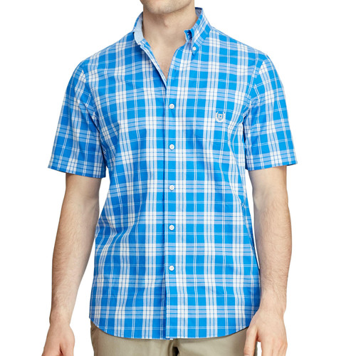 Chaps Short Sleeve Woven Shirt - *Special Order