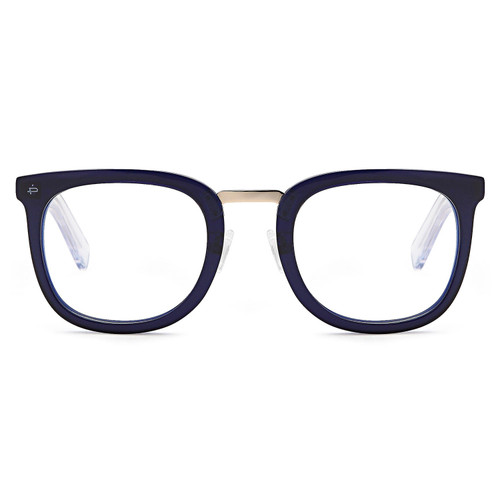 The Alchemist, Anti Blue Light Blocking Lenses, Midnight Navy/Clear - *Special Order