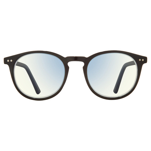 The Maestro, Anti Blue Light Blocking Lenses, Caviar Black/Clear - *Special Order