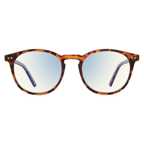 The Maestro, Anti Blue Light Blocking Lenses, Chestnut Brown Tort/Clear - *Special Order