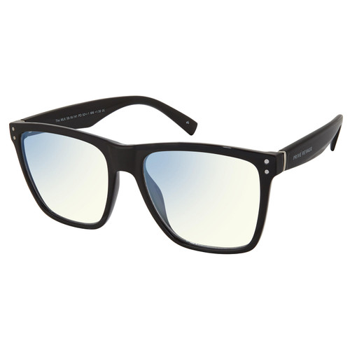 The MLK, Anti Blue-Light Blocking Lenses, Caviar Black/Clear - *Special Order