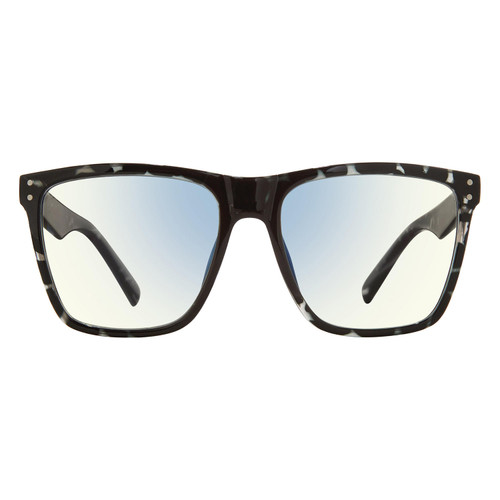 The MLK, Anti Blue Light Blocking Lenses, Gunmetal Tortiose/Clear - *Special Order