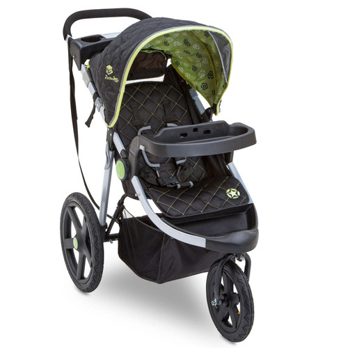 Jeep Adventure All-Terrain Jogger Stroller by Delta Children (Choose Your Color) - *Special Order