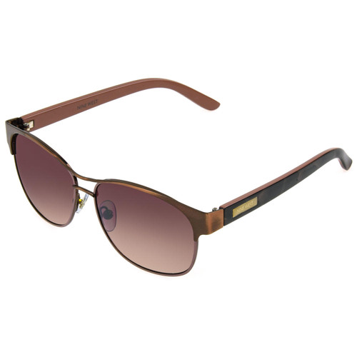 Nine West Rose Gold Wayfarer-Style Sunglasses with Accessories - *Special Order