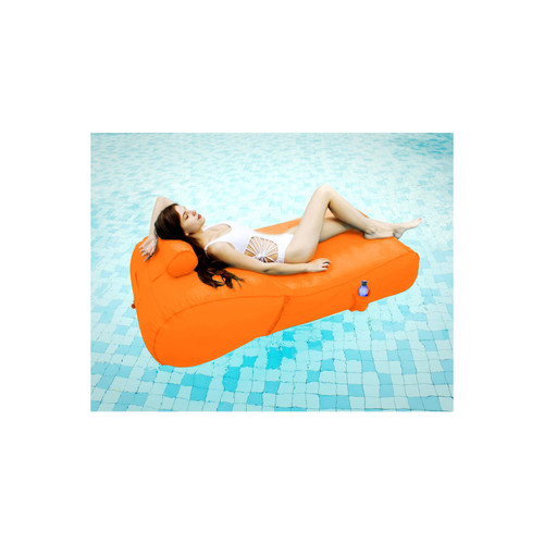 OVE Decors Aqua Sunlounger Inflatable Pool Float, Various Colors - *Special Order