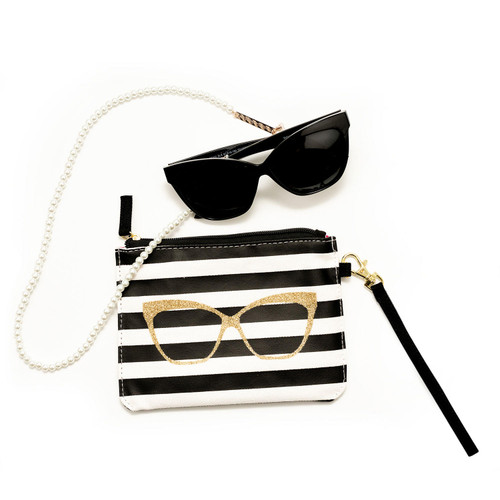 Betsey Johnson Cateye Rx-able Sunglasses with Accessories - *Special Order