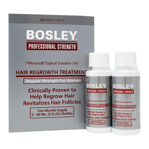 Bosley Hair Regrowth Treatment 2% for Women (4 oz.) - *Special Order