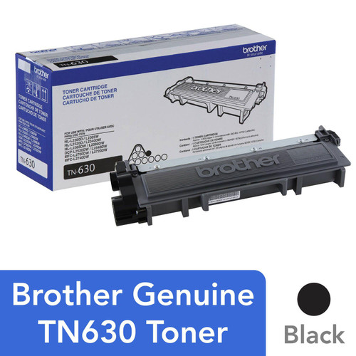 Brother - TN630 Toner Cartridge, Black - *Special Order
