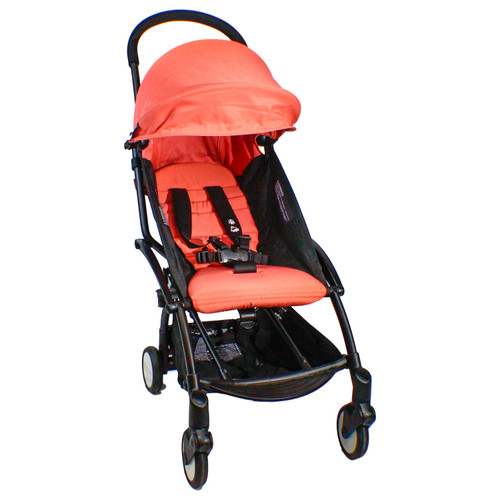 Babyzen YOYO + 6+ Black Stroller, Seat and Canopy (Choose Your Color) - *Special Order