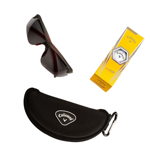 Callaway Polarized Semi-Rimless Sunglasses with Accessories - *Special Order