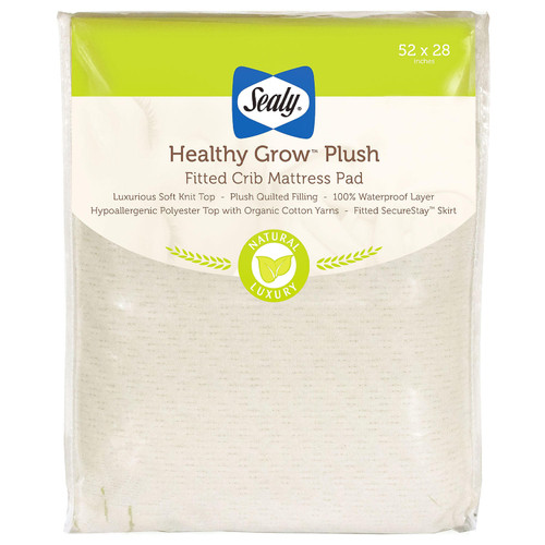 "Sealy Healthy Grow Plush Infant/Toddler Crib Mattress (52"" x 28"" x 8.5"") - *Special Order"