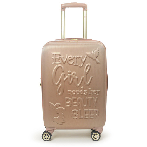 """Ful Disney Princess Aurora Sleeping Beauty Hard-sided 21"""" Carry On Luggage - *Special Order"""