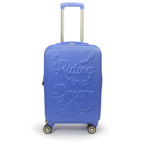"""Ful Disney Princess Cinderella Hard-Sided 21"""" Carry On Luggage - *Special Order"""