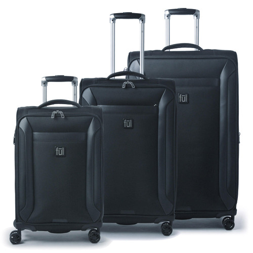 FUL Heritage Classic Soft-Sided 3 Piece Luggage Set - *Special Order