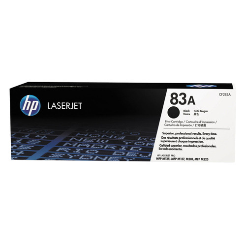 HP 83A (CF283A-D) 2-pack Original LaserJet Toner Cartridges, Black - *Special Order