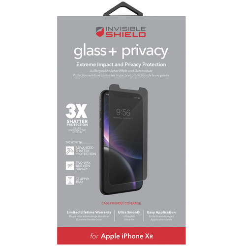Zagg InvisibleShield Privacy Glass for Apple iPhone (Choose size) - *Special Order