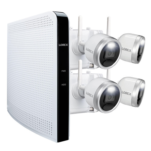 Lorex 4 Camera 1080p HD Wire-Free Security System - *Special Order
