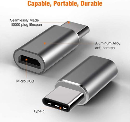 BREXLINK MICRO USB TO USB C ADPT
