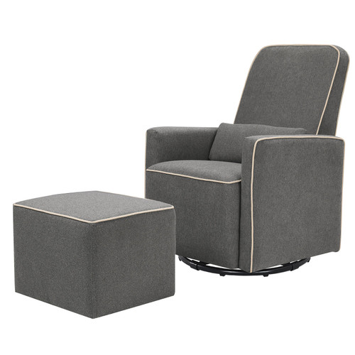 DaVinci Olive Swivel Glider with Bonus Ottoman (Choose Your Color) - *Special Order