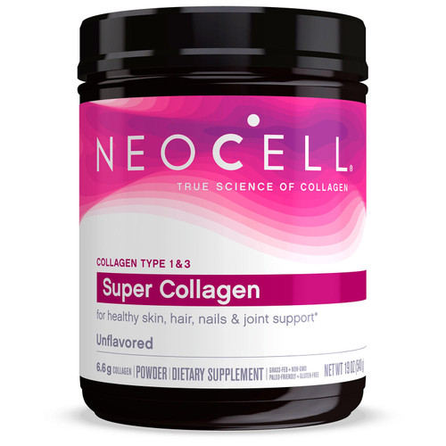 NeoCell Super Collagen Unflavored Powder, Collagen Type 1 & 3 (19 oz.) - *Special Order