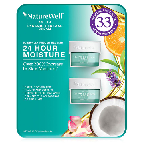 Nature Well Dynamic Renewal Cream (1.7 oz., 2 pk.) - *Special Order