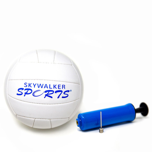 Volleyball and Pump Kit with Logo by Skywalker Sports - *Special Order
