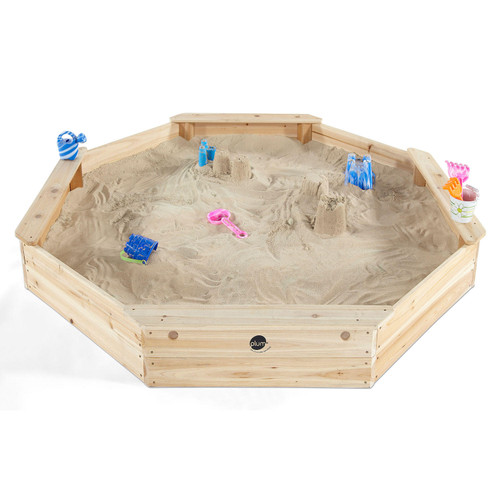 Plum Giant Wooden Sand Pit - *Special Order