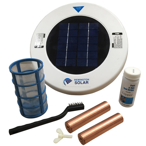 Remington Solar Chlorine-Free Sun Shock Pool Purifier Plus Extra Copper Anode - *Special Order