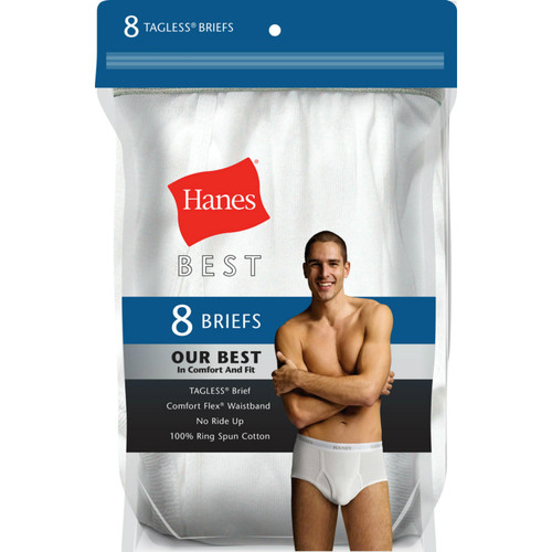 Hanes Best 8-Pack Brief (Assorted Colors) - *Special Order