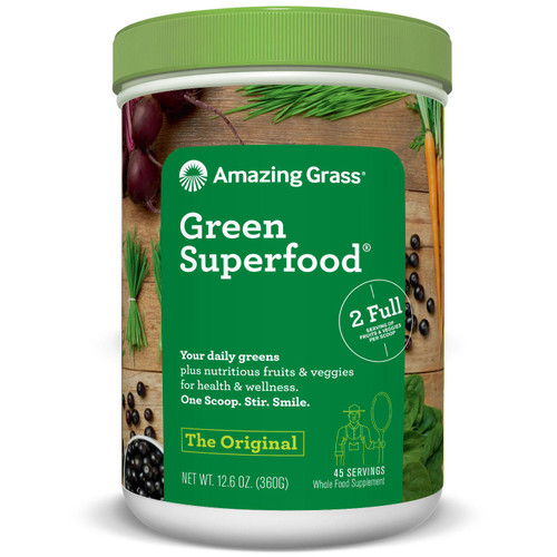 Amazing Grass Green Superfood, Original (45 servings) - *Special Order