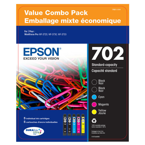 Epson DURABrite Ultra 702 Ink Value Club Pack - *Special Order