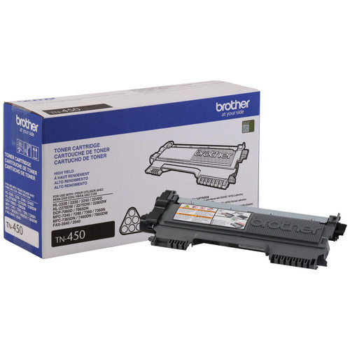 Brother - TN450 High Yield Toner Cartridge, Black - Save $5 with purchase of Member's Mark Multipurpose Copy Paper Case - *Special Order