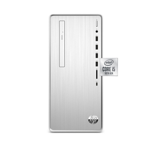 HP - Pavilion - Desktop Tower - 10th Gen Intel Core i5 - 8GB RAM + 16GB Intel Optane Memory - 1TB HDD - USB Black Wired Keyboard and Mouse Combo - 2 Year Warranty Care Pack - Windows 10 Home - *Special Order
