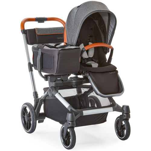 Contours Element 1-to-2 Stroller, Gray - *Special Order