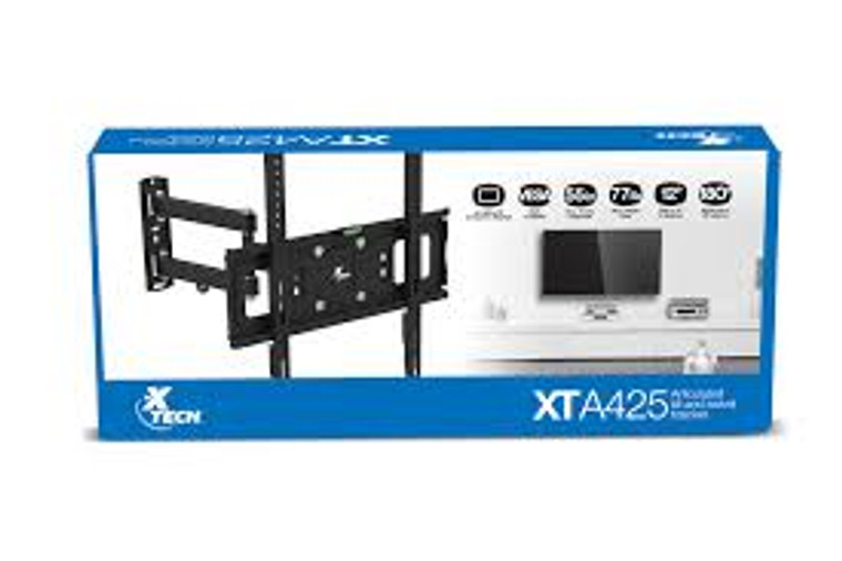 32-55inch Xtech TV wall mount bracket Tilt up to 12 degrees Swivel up to 180 degrees Maximum support weight 77lbs
