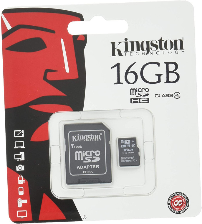 16GB File Format is SDHC File Format - FAT32 High-Speed Class Rating - Class 4: 4MB/sec. minimum data transfer rate Compliant with the SD Card Association card 3.00 specification